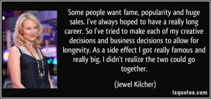 Famous Sales Quotes More jewel kilcher quotes