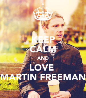 keep calm and love martin freeman 4 png