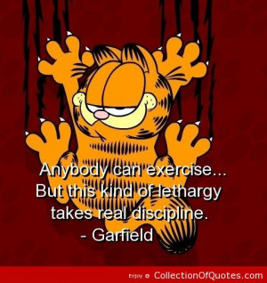 Garfield Sayings And Quotes
