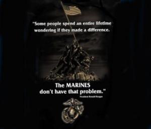 Ronald Reagan Quote Marine Corps
