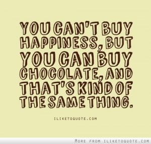 You Can Buy Happiness But Books...