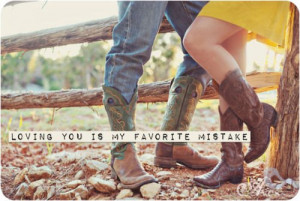 boots, cowboy cowgirl, cute, love, quote
