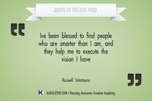 Quote Of The Day #030 Russell Simmons