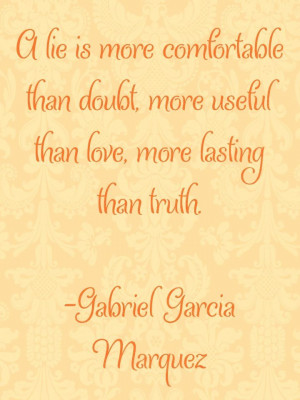 quotes by Gabriel Garcia Marquez