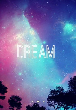 Galaxy Dream Quotes Galaxy wallpaper, cute and