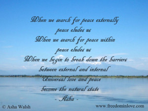 Universal love and peace