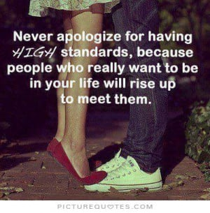 ... people who really want to be in your life will rise up to meet them