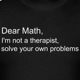 Dear math,