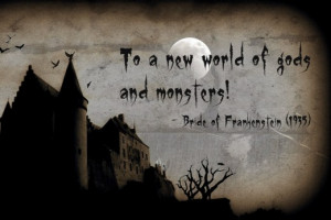 Creepy Quotes and Scary Sayings - Be Afraid Be Very Afraid
