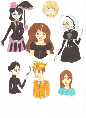 Discworld Doodles by TheAwesomeFaerie