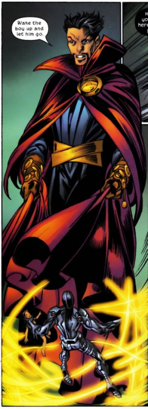dr strange of the ultimate universe is dr stephen strange jr he was ...