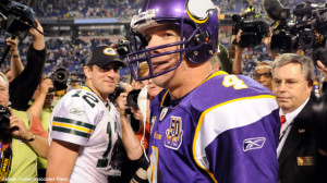 Favre Rodgers Funny