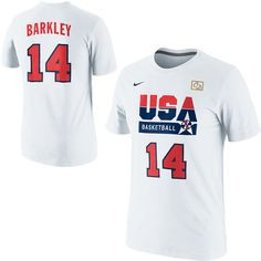 ... Basketball 1992 Dream Team Charles Barkley Authentic Jersey T-Shirt