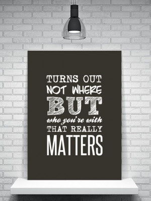 Typography, Typographic Poster, Inspirational Quote, Dave Matthews ...