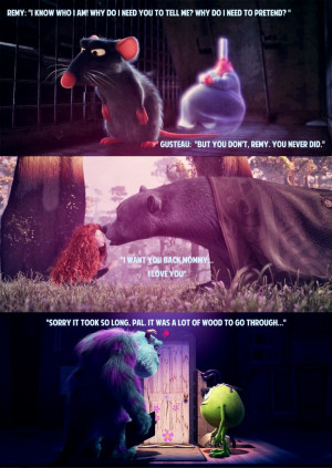 Pixar Quotes: Monsters Inc., Brave, and Ratatouille