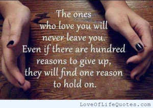 Life Quotes You Never Leave