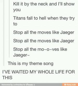 anime, funny, moves like jagger, attack on titan, shinjeki no kyojin