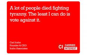Carl Icahn Tyranny Quote