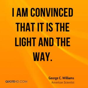 George C. Williams Quotes