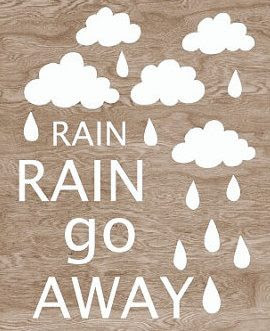 Funny Quotes About Rain Going Away ~ Rain Rain Go Away... ~ God is ...