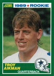 Troy Aikman was an $11 million man after the Cowboys took him with the ...