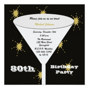 80th_birthday_party_invitation_gold_80th_toast ...