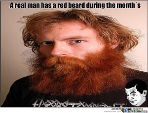 manly beard meme