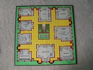 Clue Game Board
