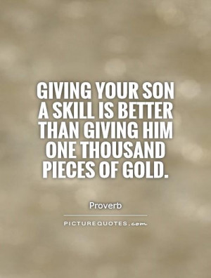 Son Quotes Parenting Quotes Proverb Quotes