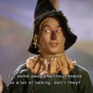 Wizard of Oz. the scarecrow, Ray Bolger.