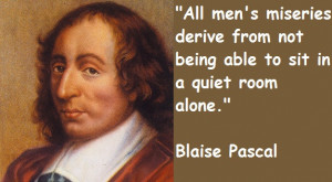 Blaise Pascal Quotes Word Quotes