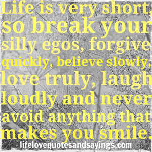 very short love quotes