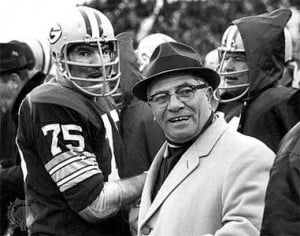 THOUGHTS AND PHILOSOPHY FROM VINCE LOMBARDI