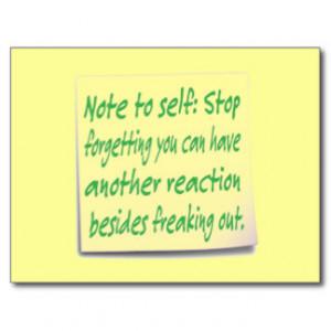 funny_note_to_self_postcard-r755ec9b9e3264ce780114ca821ec890e_vgbaq ...