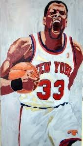 Patrick Ewing Art #Knicks #basketball #nba