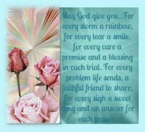 May God Give You Comfort