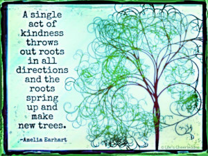 ... roots in all directions and the roots spring up and make new trees