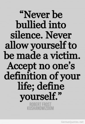 Pitbull Sayings And Quotes Bullied sience quote robert