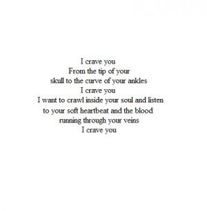 blo0d:i crave you