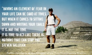 Having an element of fear in your life can be good at times, but when ...