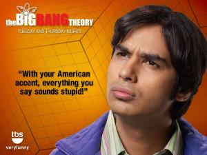 TV Show - The Big Bang Theory Kunal Nayyar Raj Koothrappali Wallpaper