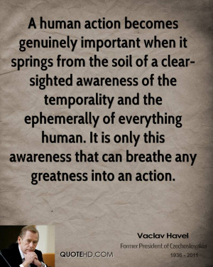 Vaclav Havel Quotes