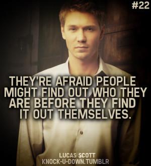 Lucas Scott One Tree Hill Quotes Lucas scott