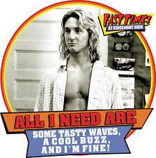 Fast Times at Ridgemont High T-shirt Jeff Spicoli retro 80's surfer ...