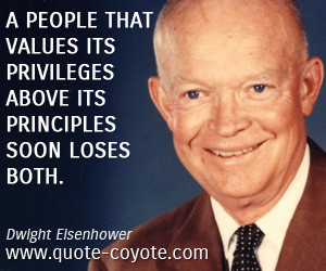 Dwight D Eisenhower Quotes