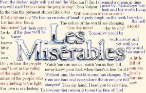 Les Miserables Les Miserables Ultimate Quotes