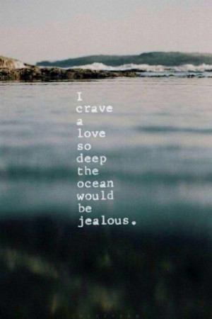 beautiful, deep, life, lost, love, lovely, ocean, picture, quotes, sad ...