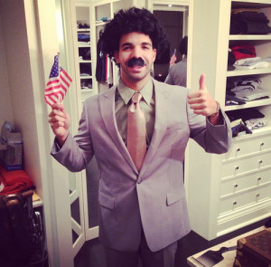 Drake Halloween borat