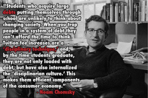 Noam Chomsky quote on