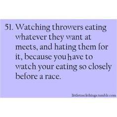 Track And Field Throwers Quotes